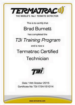 TermaTrac accreditation